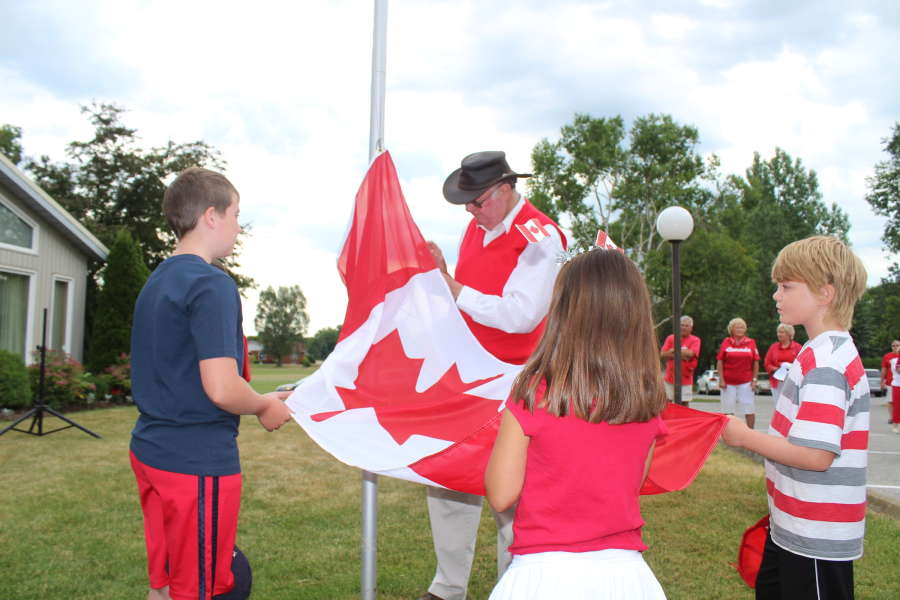 Canada Day Flag-raising ceremony