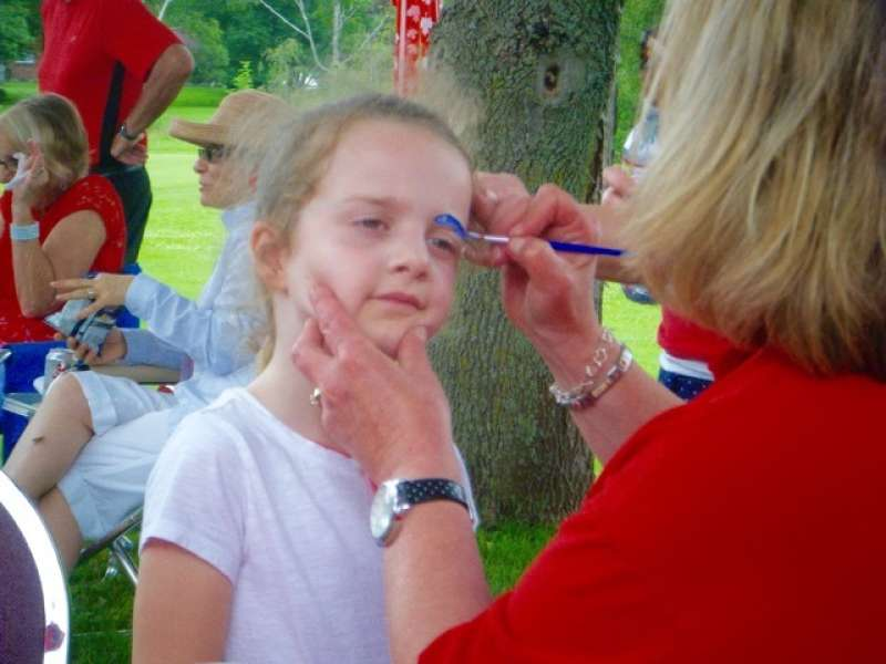 Canada Day Face Painting Dawn