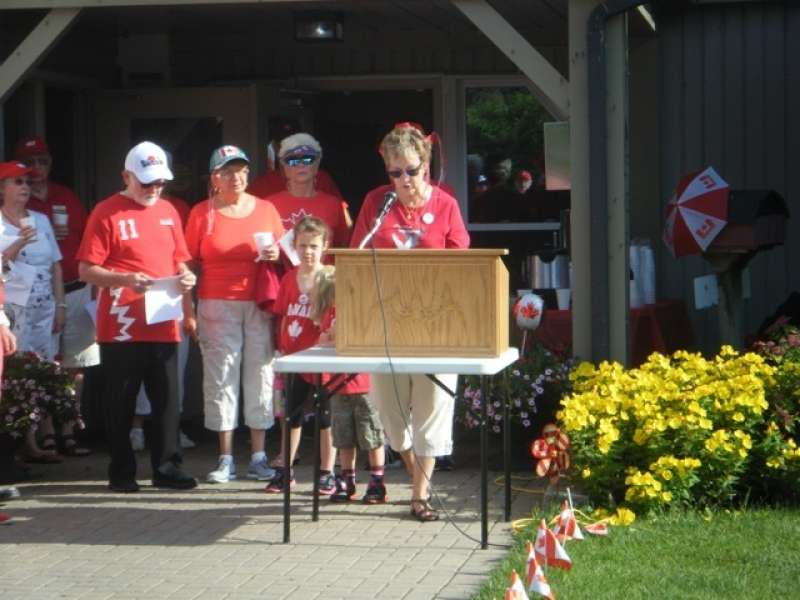 Canada Day Speakers President Hermans