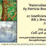 Watercolours by Patricia Beecham