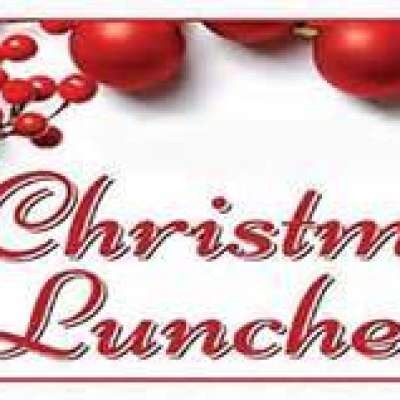 Ladies Christmas Lunch Dec 4th