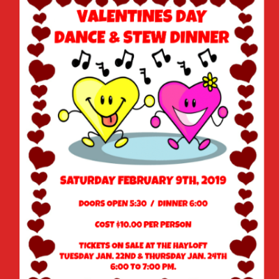 Valentines Day Stew Dinner & Dance
