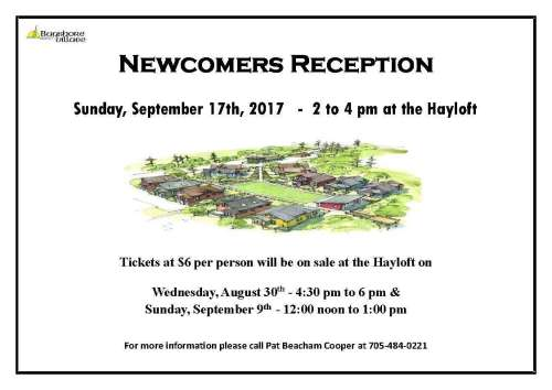 Newcomers Reception
