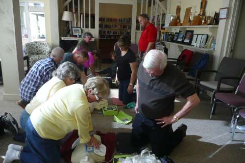 AED and CPR Training Tues. Nov 7th