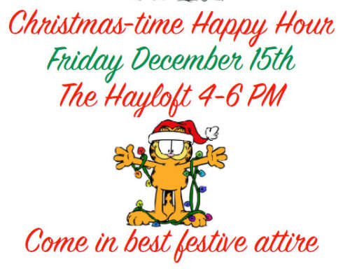 Christmas Time Happy Hour Fri Dec 15 4-6 pm