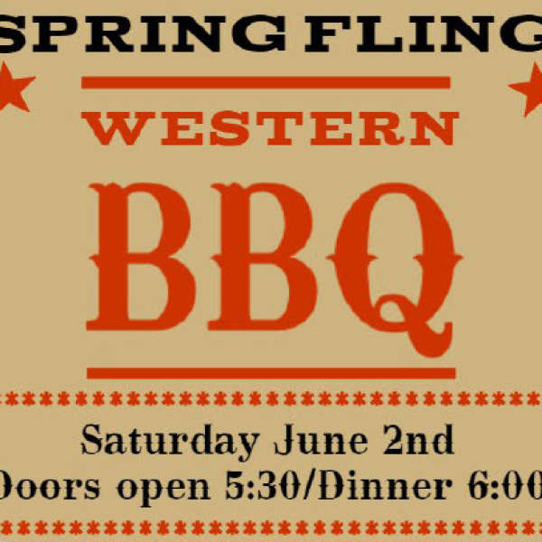 Spring Fling - June 2 - sold out – if you have tickets and can