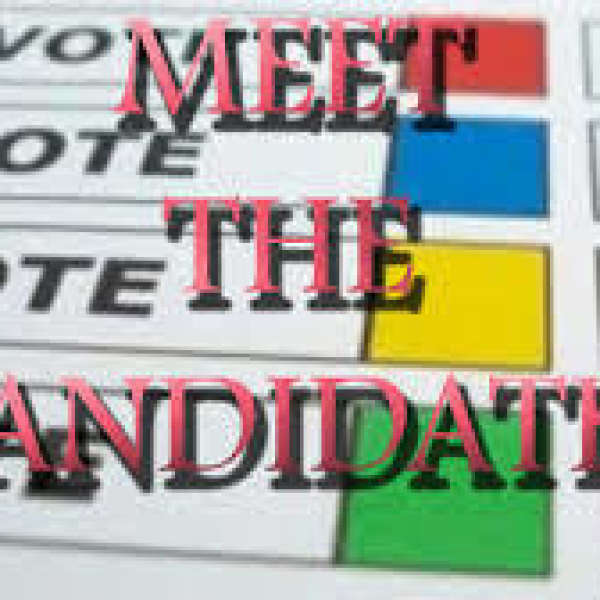 All Candidates Meeting - 84 Laguna Pkwy, Lagoon City 1:00 pm