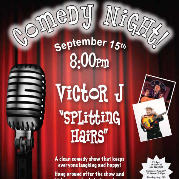 Comedy Night - Tickets - Sat Aug 25 11 am/Tues Aug 28 6-7 pm
